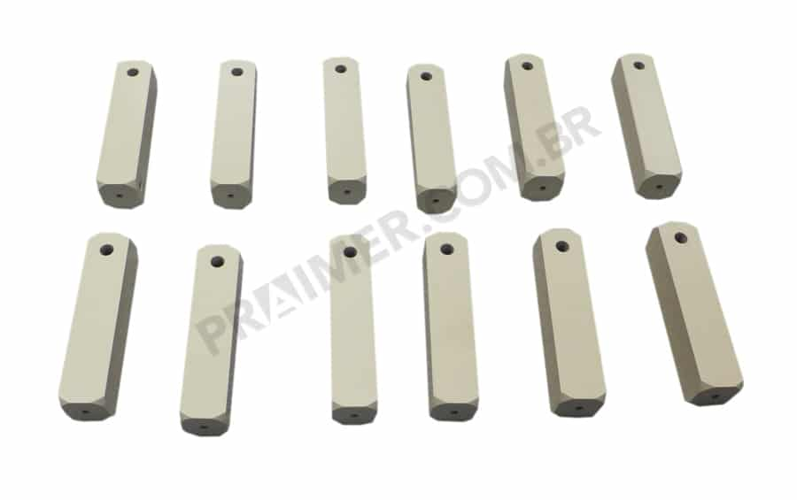 Teflon bar for packing machine shafts