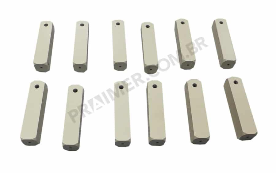 Teflon bar for packing machine shafts