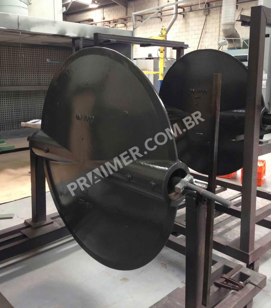 Halar ectfe butterfly valve for desalination plant