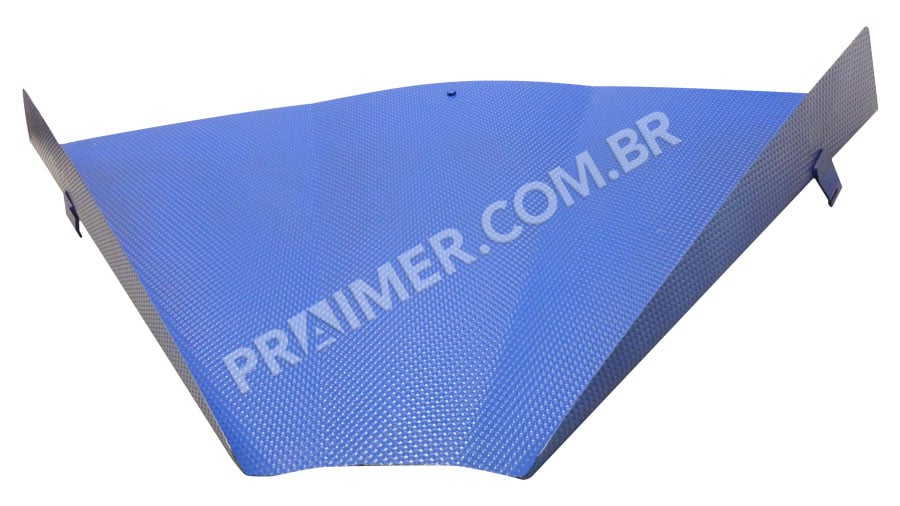 polymer for collection hopper with Xylan 8840