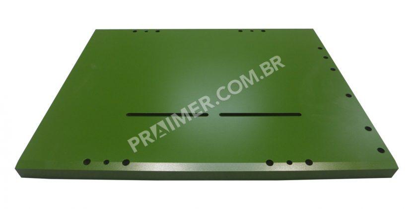 placa de sellado con Xylan verde para la industria del embalaje