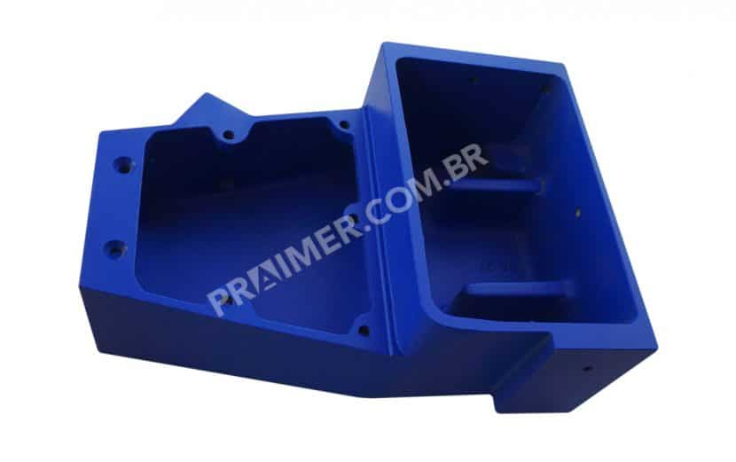 Blue Hot Melt Fusion ceramic coating for packaging deposit