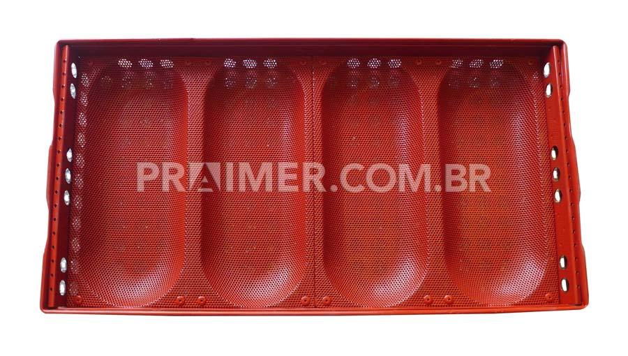 bandeja antiadherente de pan de silicona líquida