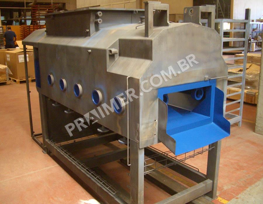 Máquina de queijo teflonar com Xylan 8810