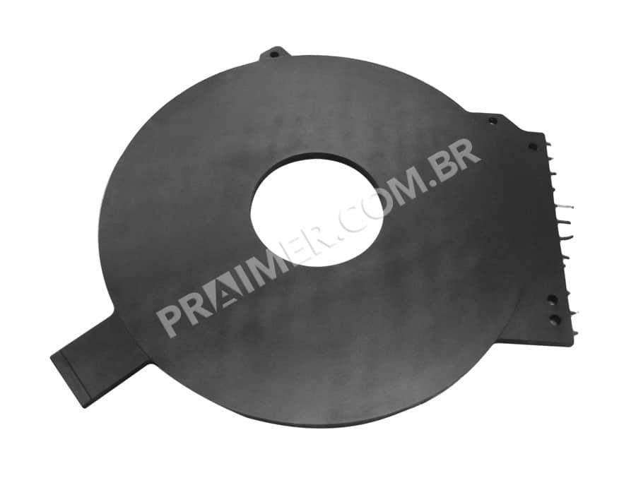 teflonar com Xylan Eclipse um espelho térmico para vedação de plástico