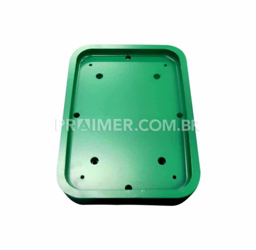 thermoforming of heat sealing mold for packaging with green teflon