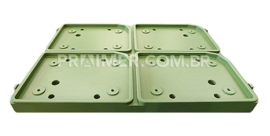 thermoforming container sealer mold